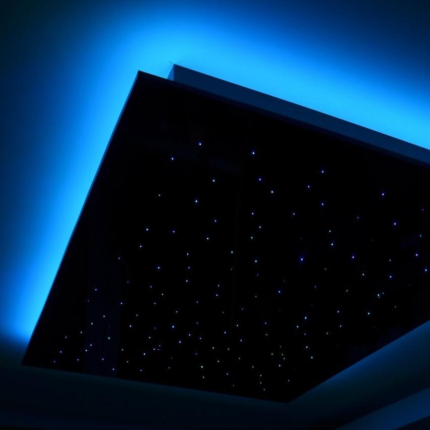 Fiber Optic RGB+White Smart Ceiling Panels
